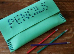 Foam Pencil Case