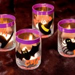Personalized Halloween Votives