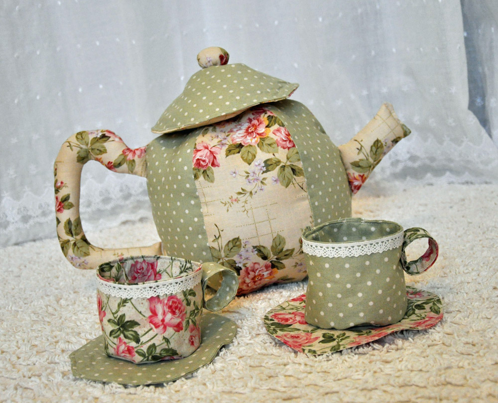 Fabric Tea Set Fun Family Crafts