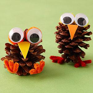 Pinecone Birds