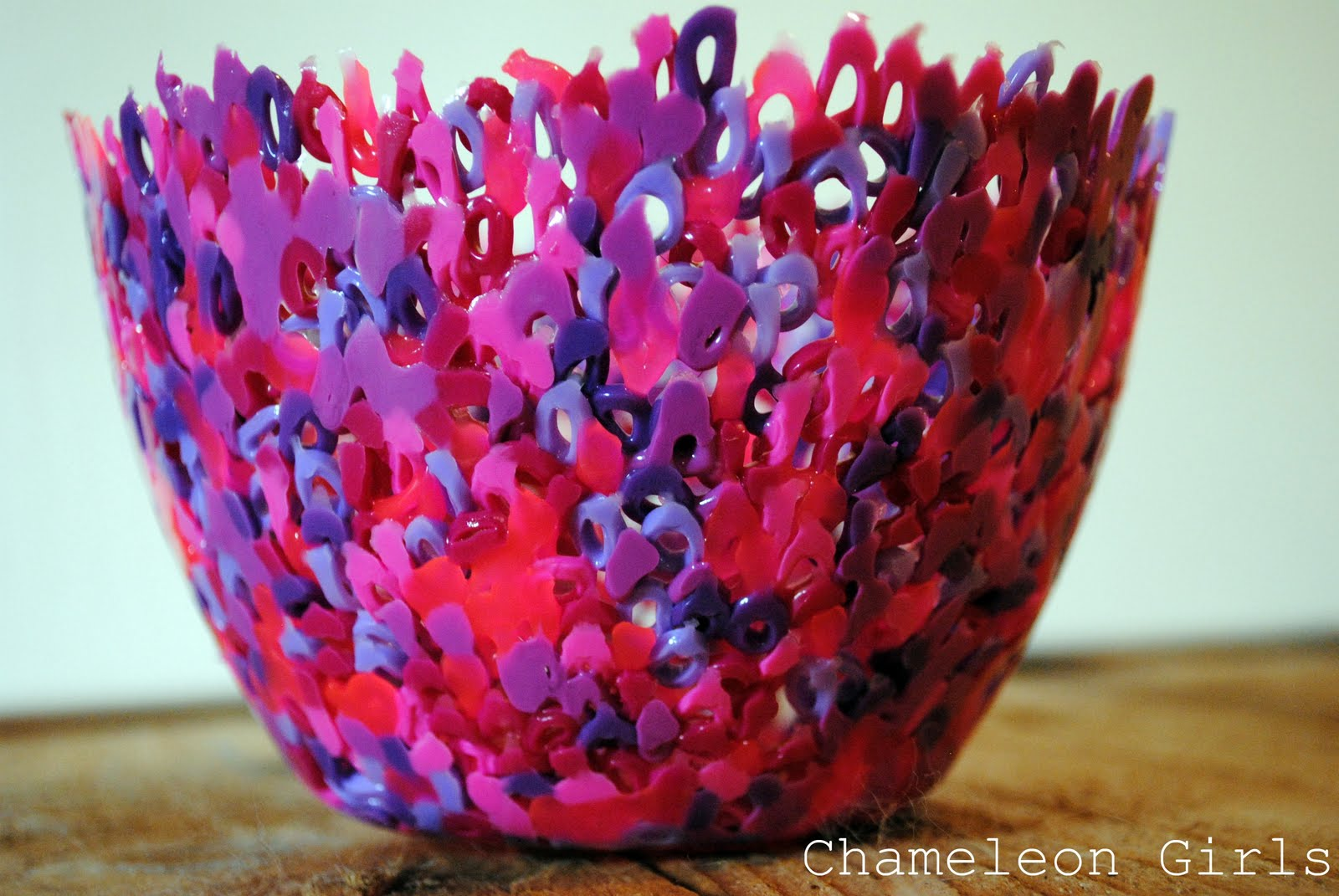 Plastic Bead Bowl Fun Family Crafts
