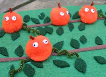 Pom-Pom Pumpkin Patch