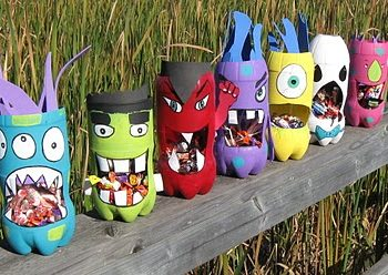 Pop Bottle Candy Gorging Monsters