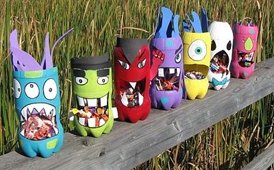Pop Bottle Candy Gorging Monsters