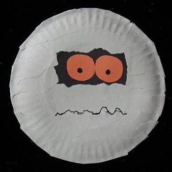 Paper Plate Mummy
