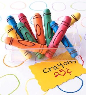 Candy Pretzel Crayons