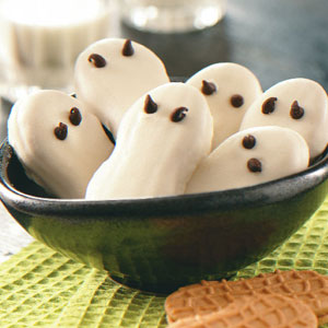 Quick Ghost Cookies