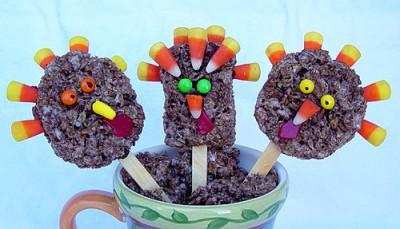 Rice Crispy Turkeys