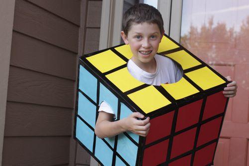 Rubik's Cube Costume | Fun Family Crafts