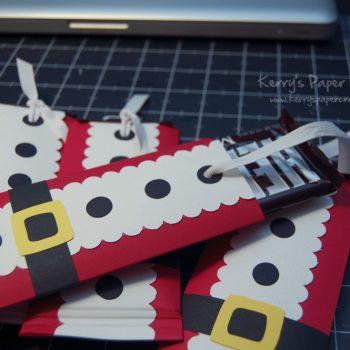 Santa Chocolate Bar Wraps