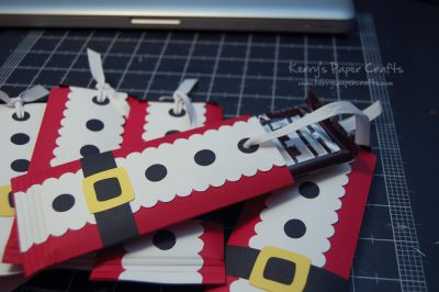 Santa Chocolate Bar Wraps