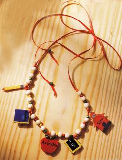 School Bead Necklace