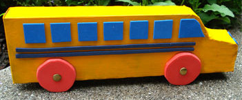 Recycled School Bus