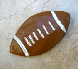 Salt Dough Football
