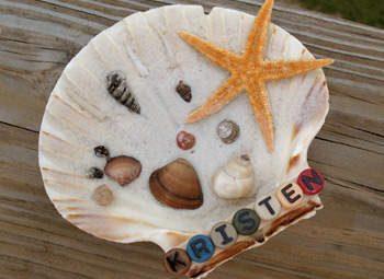Personalized Seashell