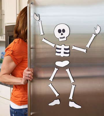 Skeleton Refrigerator Magnets