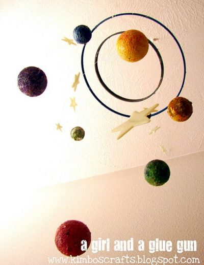 Solar System Mobile School Project Make a Solar System Mobile to