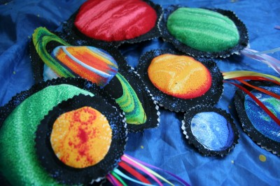 Outer space beanbags fun family crafts for Outer space themed fabric