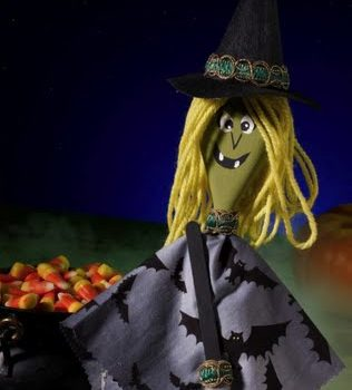 Witch Spoon Puppet