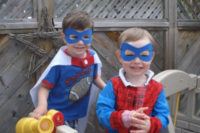 No Sew Super Hero Capes