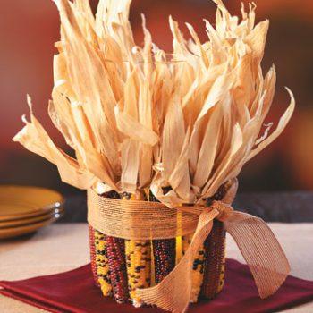 Indian Corn Centerpiece