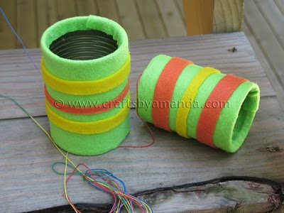Tin Can Telephone Fun Family Crafts