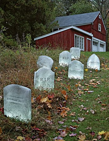 Tombstone Lawn Decorations