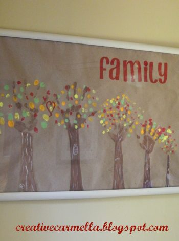 Handprint Family Trees