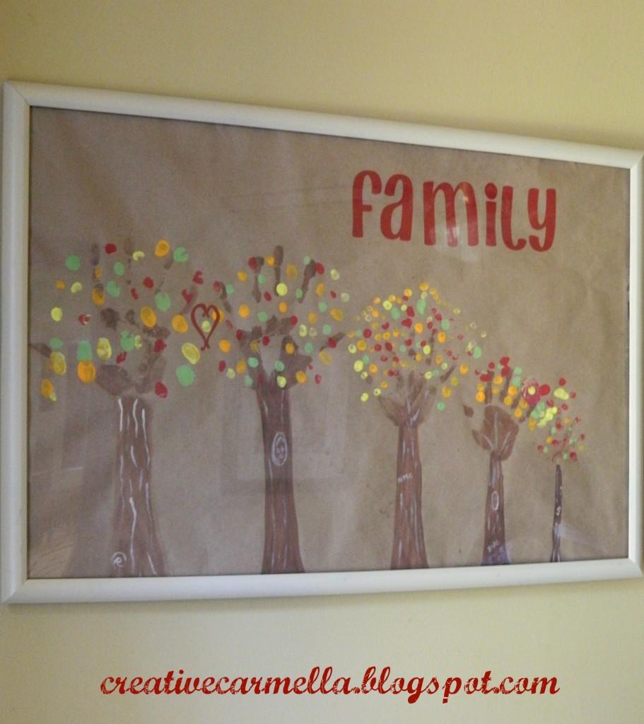 Handprint Family Trees