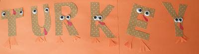 Paper Turkey Letters