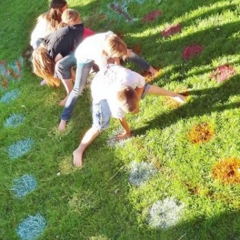 Backyard Twister Game