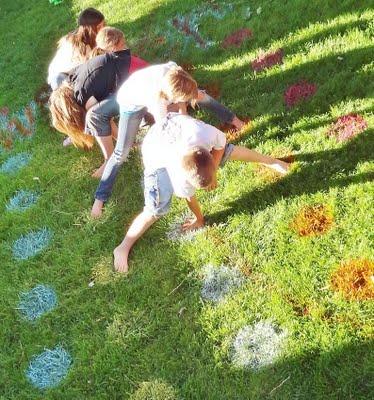 Backyard Twister Game