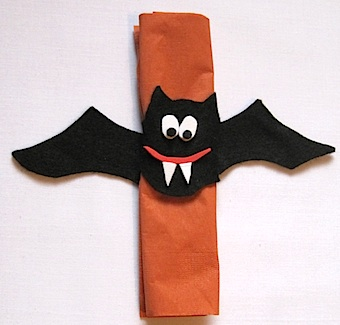 Vampire Bat Napkin Rings