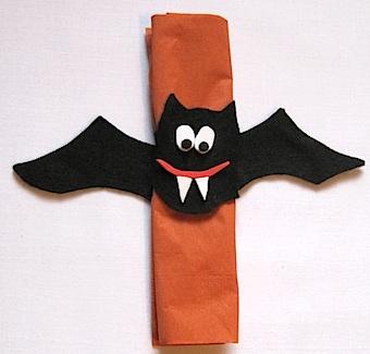 Vampire Bat Napkin Rings