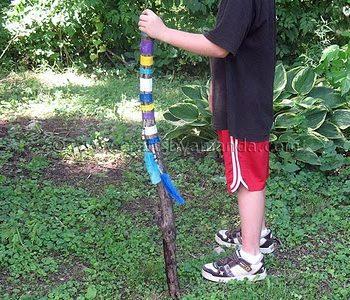 Colorful Walking Stick
