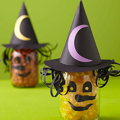 Witch Candy Jars