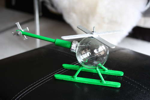 Helicopter-Ornament
