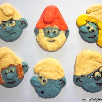 Smurf Cookies