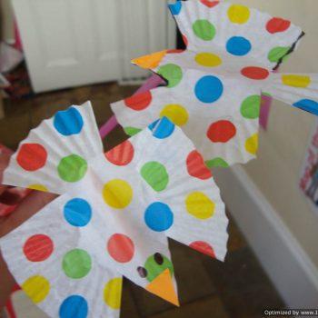 Cupcake Liner Birds