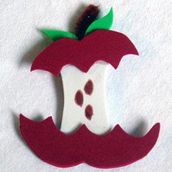 magnet foam apple