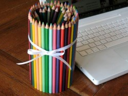 Colored Pencil Can