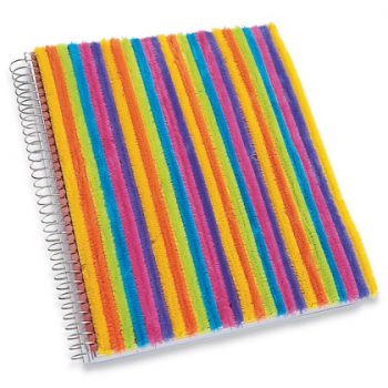 Colorful Coverup Notebook