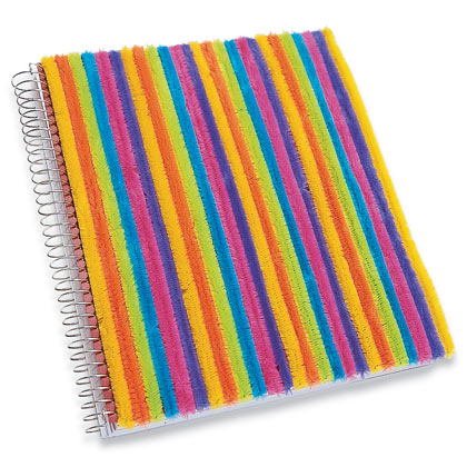 Colorful Coverup Notebook Fun Family Crafts
