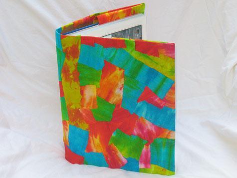 tie dye book cover
