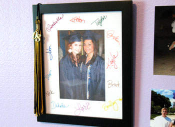 Graduation Signature Frame Fun Family Crafts