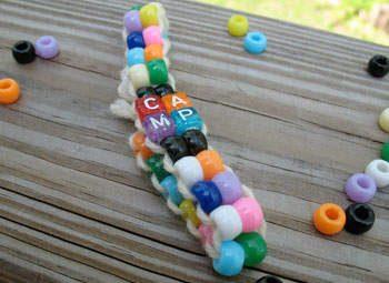 Pony Bead Camp Bracelet