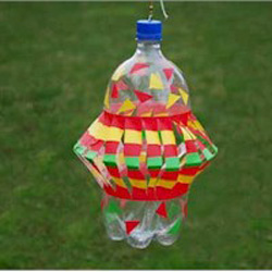 Pop Bottle Wind Spinner