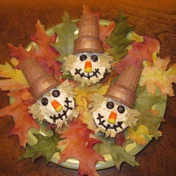 Scarecrow Cupcakes