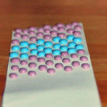 Homemade Dot Candy