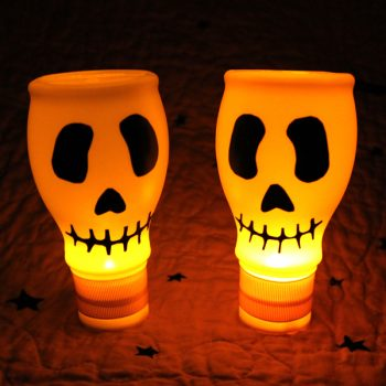 Lighted Skulls